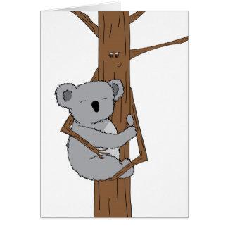 Cartes Caresse de koala