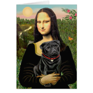 Cartes Carlin 16 (noir) - Mona Lisa