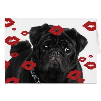Cartes Carlins et baisers