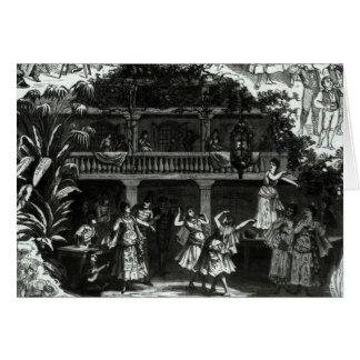 Cartes Carmen dans la taverne de Lilas Pastia