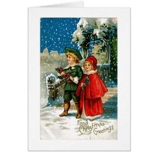 Cartes Carolers de Noël