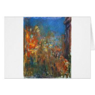 Cartes Carré de Leicester la nuit par Claude Monet