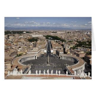 Cartes Carré de St Peters, Rome