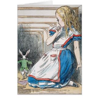 Cartes Carroll : Alice, 1865