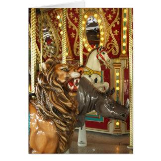 Cartes Carrousel de zoo de Dallas