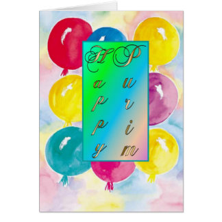 Cartes Carte-Ballons de Purim