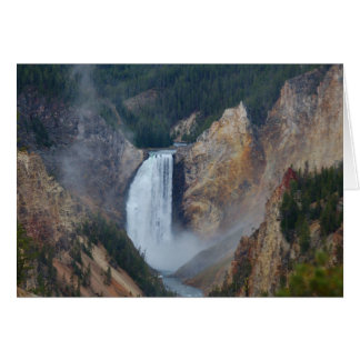 Cartes Cascade de Yellowstone