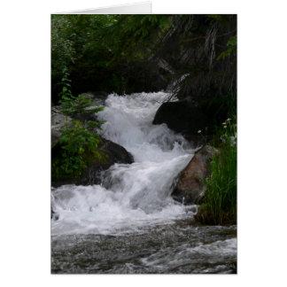 Cartes Cascade en parc national de montagne rocheuse