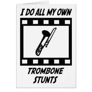 Cartes Cascades de trombone