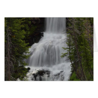 Cartes Cascades Yellowstone d'Undine