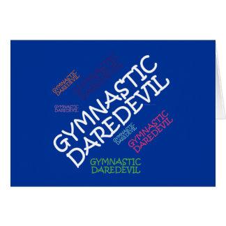 Cartes Casse-cou SUPÉRIEUR de gymnastique