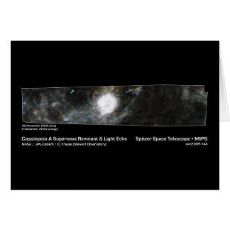 Cartes Cassiopeia une NASA de reste de supernova et