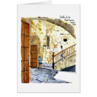 Cartes Castillo de la Real Fuerza, vieille La Havane,