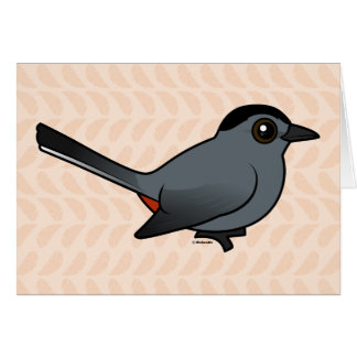 Cartes Catbird gris de Birdorable