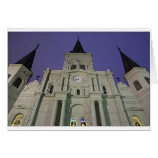 Cartes Cathédrale de St Louis, carré de Jackson, la