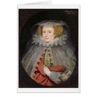 Cartes Catherine Killigrew, Madame Jermyn, 1614 (huile