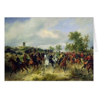 Cartes Cavalerie prussienne sur l'expédition, c.19th