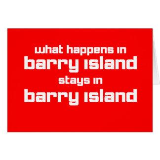 Cartes Ce qui se produit en Barry