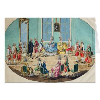 Cartes Célébration de nouvelle année à Vienne en 1782,