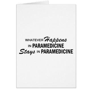 Cartes Celui qui se produise - Paramedicine