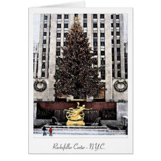 Cartes Centre de Rockefeller - New York City