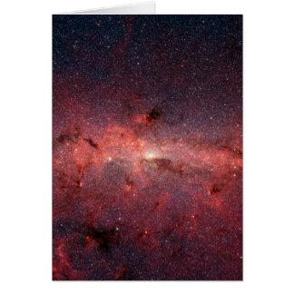 Cartes Centre galactique de manière laiteuse, étoiles,