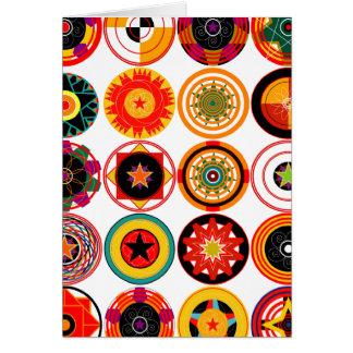 Cartes Cercles et spirales