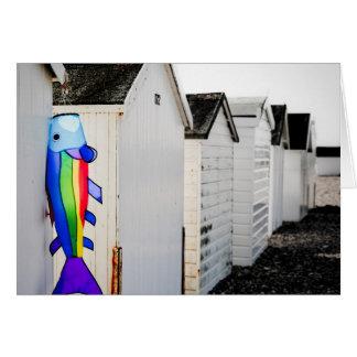 Cartes Cerf-volant coloré par arc-en-ciel