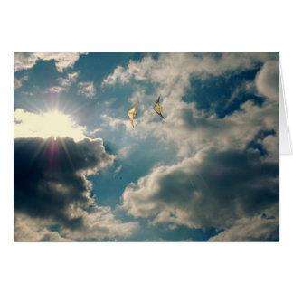 Cartes Cerfs-volants de Sun