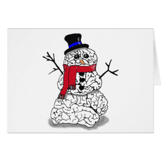 Cartes Cerveau de neige