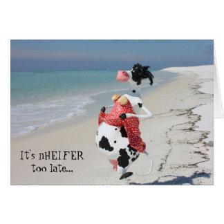 Cartes Cette vache essaye toujours aux MAMELLES