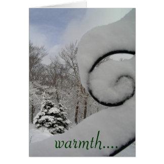Cartes chaleur….