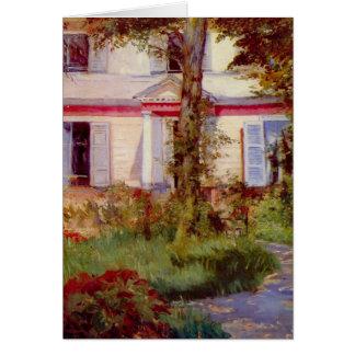 Cartes Chambre dans Rueil par Edouard Manet