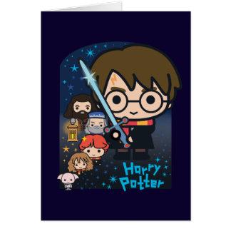 Cartes Chambre de Harry Potter de bande dessinée des