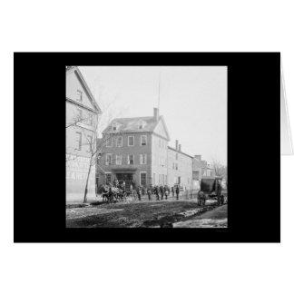 Cartes Chambre de Marshall à l'Alexandrie, VA 1865