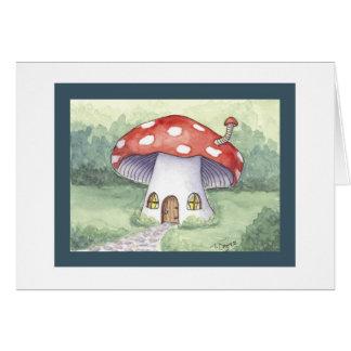 Cartes Chambre rouge de champignon