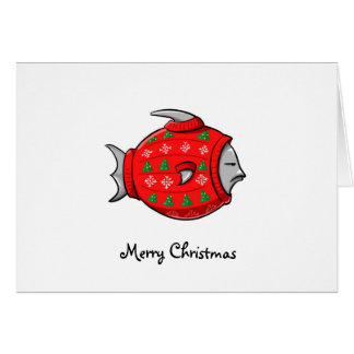 Cartes Chandail de mauvais goût de Noël de Cape Cod