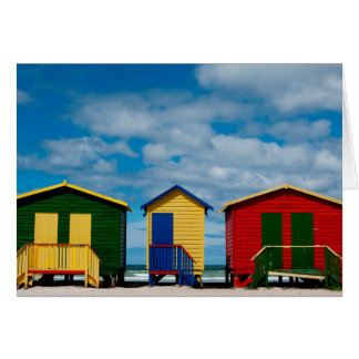 Cartes Changez les salles. Plage de Muizenberg, Cape Town