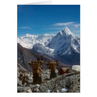 Cartes Charges de transport d'escalade de Sherpanis