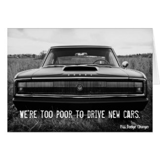 Cartes Chargeur de Dodge - trop pauvre pour conduire de