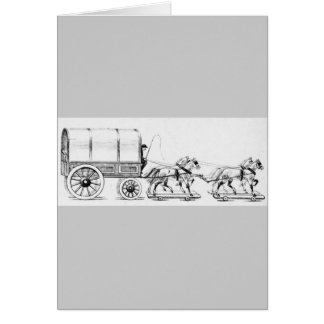 Cartes Chariot couvert