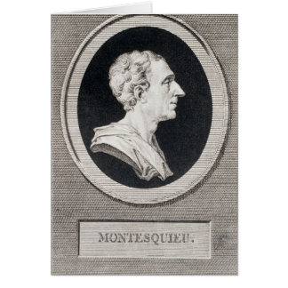 Cartes Charles Louis de Secondat, baron de Montesquieu