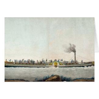 Cartes Charles-Philippe, le premier bateau à vapeur
