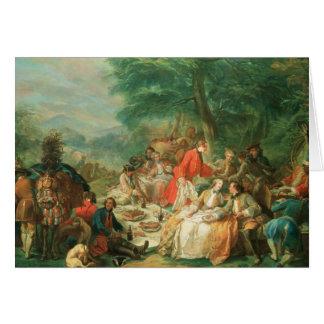 Cartes Chasse de La, XVIIIème siècle