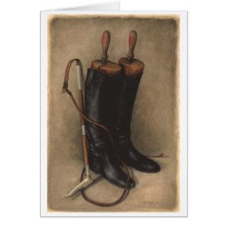 Cartes Chasse des bottes et du fouet