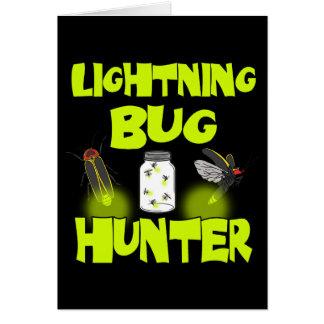 Cartes chasseur d'insecte de foudre