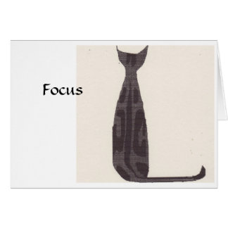 Cartes Chat de foyer