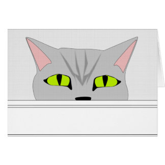 Cartes Chat sournois 2