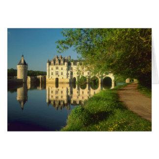 Cartes Château de Chenonceau, le Val de Loire,