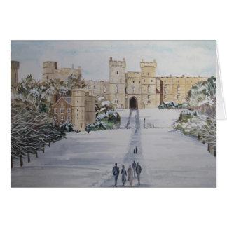 Cartes Château de Windsor de Bonnes Fêtes